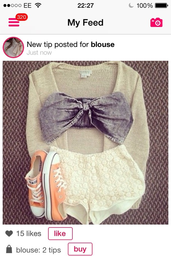 t-shirt shorts sweater