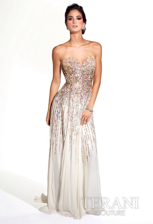 TERANI Couture - Evening Dresses- 2014 Prom Dresses- Homecoming ...