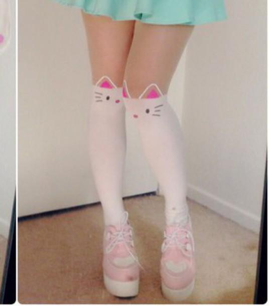 shoes, kawaii, pastel, pink, cute