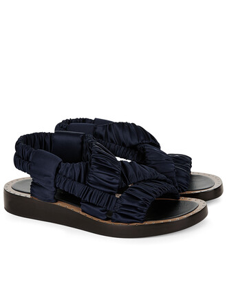 sandals navy shoes
