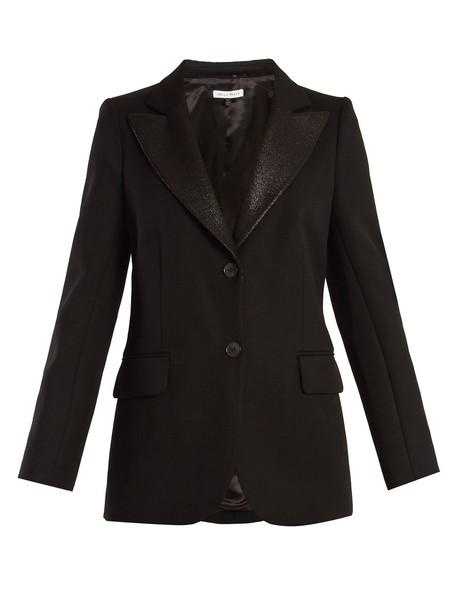 Bella Freud blazer wool black jacket