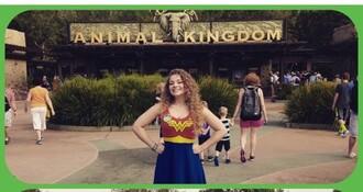 dress wonder woman marvel superheroes hair accessory shirt