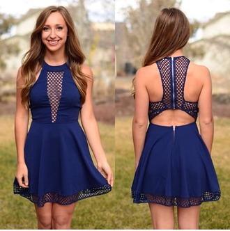 dress mesh mesh panel skater dress halter top halter neck halter dress fishnet dress cut off shorts cute outfits