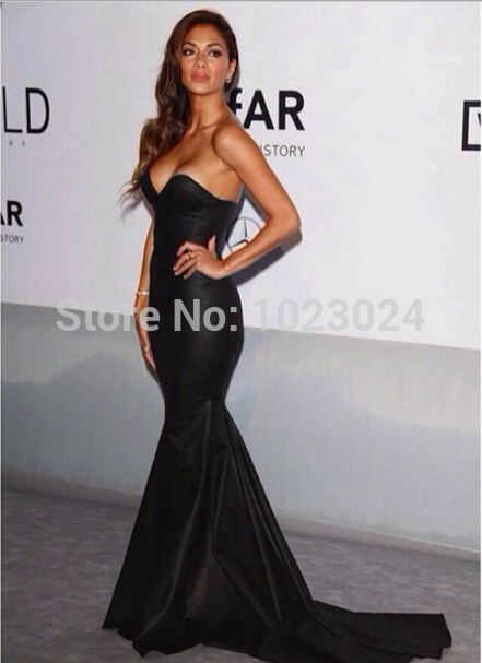 Aliexpress.com : Buy Sexy Strapless Mermaid Formal Dress Prom Dresses 2014 UK Kim Kardashian's Black Dress from Reliable dress white dress suppliers on KM Dresses