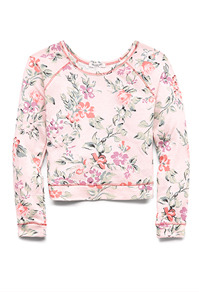 FLORAL PRINCESS SWEATERSHIRT on The Hunt
