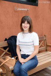 top,frieze,knitwear,blogger,jeanne damas,french girl style