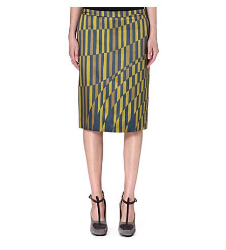 Selah printed skirt