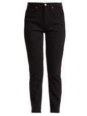 jeans,cropped,black