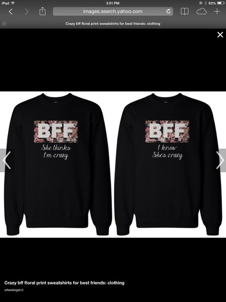jacket bff sweaters