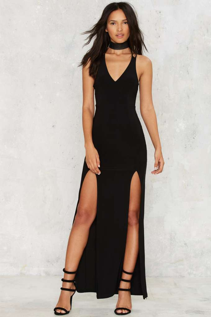 Highs and Lows Maxi Dress