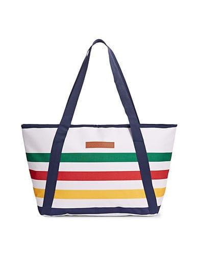 HBC Stripes HBC x Sunnylife Multi Stripe Cooler Bag - Multi Stripes