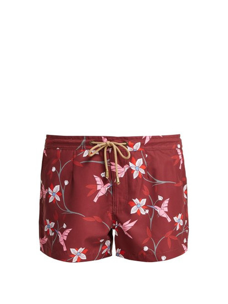 shorts beach shorts beach floral print burgundy