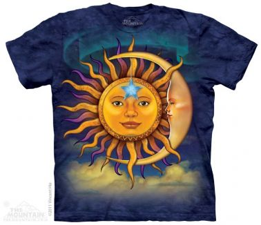 Sun Moon T-Shirt | Fantasy T-shirts | The Mountain® | Free UK Delivery