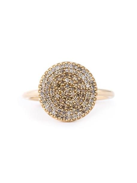 diamond ring women ring gold grey metallic jewels