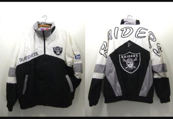 best loved dd6c8 331ca jacket, raiders, windbreaker