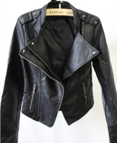 Punk PU leather black Jacket from Sweetbox Store on Storenvy