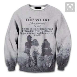 sweater grunge tumblr nirvana