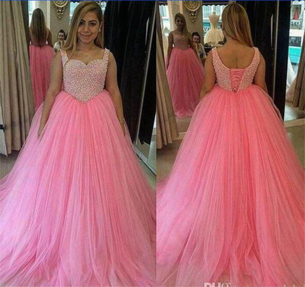 Pink Wedding Dresses Near Me: Dress, Puffy Pink Wedding Dresses, Ball Gown Wedding