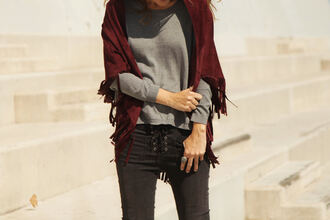 my daily style blogger jeans scarf