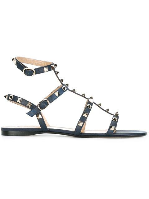 1254ed070f0 Valentino  rockstud  Sandals - Tiziana Fausti - Farfetch.com