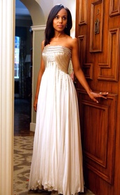dress,long evening dress,scandal,kerry washington,olivia pope