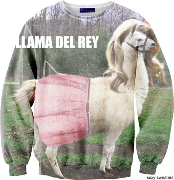 sweater lana del rey funny sweater animal lamar funny quote shirt