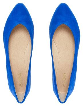 ALDO   Aldo Razavi Bluette Flat Shoe at ASOS