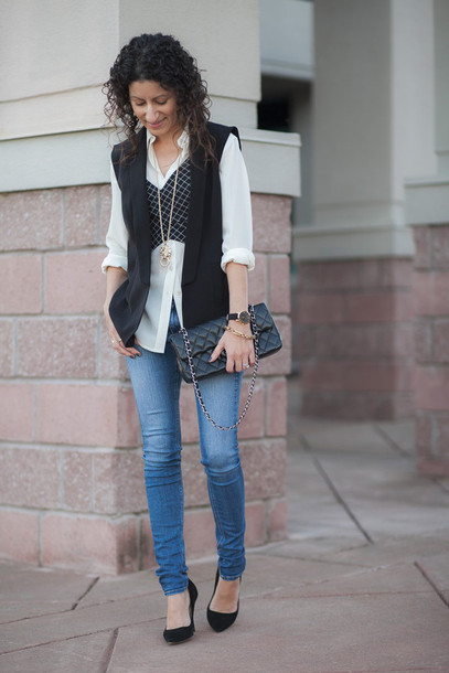 alterations needed blogger jacket shirt jeans shoes bag jewels