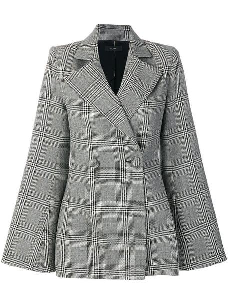 ellery jacket women black silk wool
