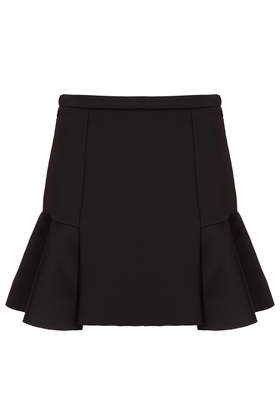 Fit and Flare Scuba Skirt - Skirts  - Clothing  - Topshop USA