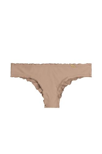 bikini bikini bottoms brown swimwear