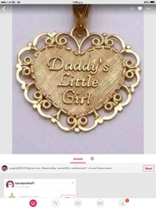 jewels,daddys little girl