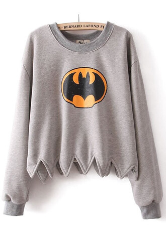 grey sweater batman