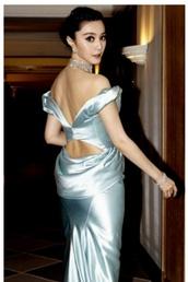 dress,silver,evening dress