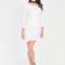 Wrap genius drape front minidress black white burgundy navy - gojane.com