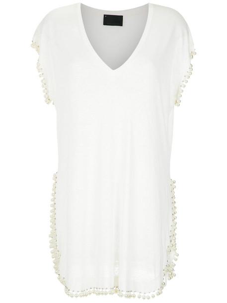 Andrea Bogosian blouse women white top
