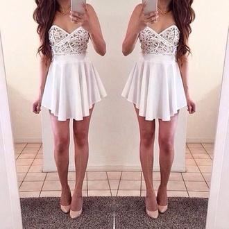 dress white dress cocktail dress white cocktail dress stylish cute beautiful gorgeous gorgeous dress