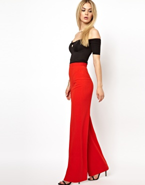 AQ AQ | AQ AQ Laurent With Wide Leg Pants at ASOS