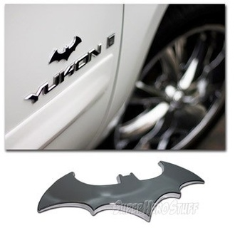home accessory batman car accessories metal