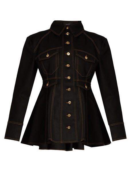 ellery jacket denim jacket denim black