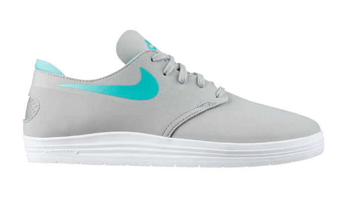 Kicks Deals - Nike SB Lunar Oneshot Base Grey/Crystal Mint | Kicks Deals