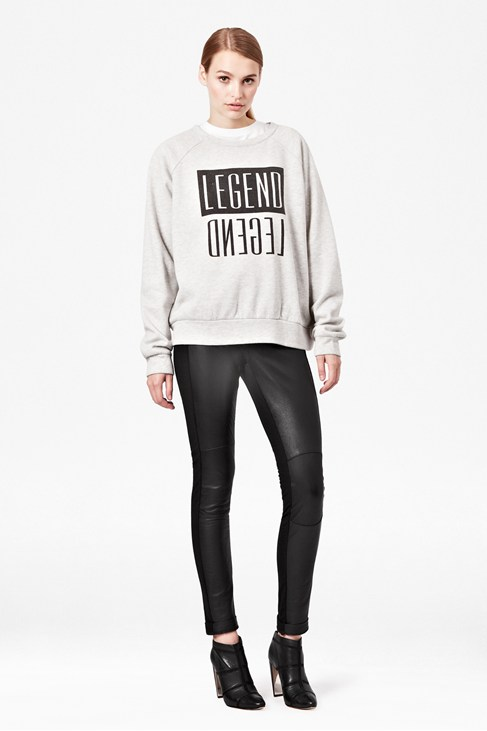 Legend Printed Sweatshirt - Collections - French Connection Usa