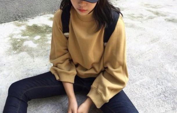 Tan Cardigan Sweater