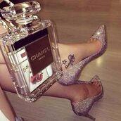 bag,chanel,clear,bag chanel,transparent  bag,shoes,diamond heels