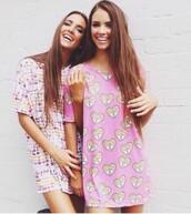 dress,t-shirt dress,t-shirt,style,shirt,hey arnold underwear,hey arnold,pink dress,graphic tee,90s style,retro,summer dress