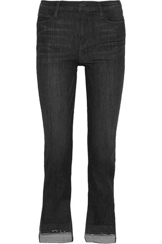 jeans high charcoal