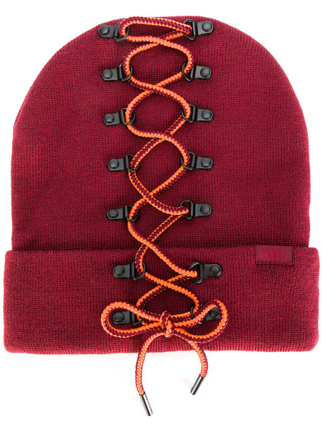Fenty x Puma women beanie purple pink hat