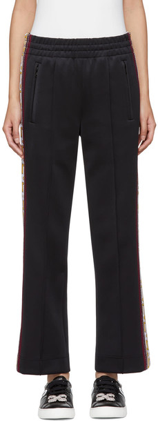 Marc Jacobs pants track pants black