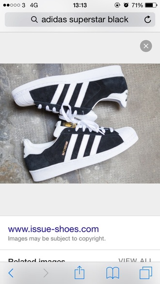 shoes black white black and white trainers adidas superstar adidas superstars