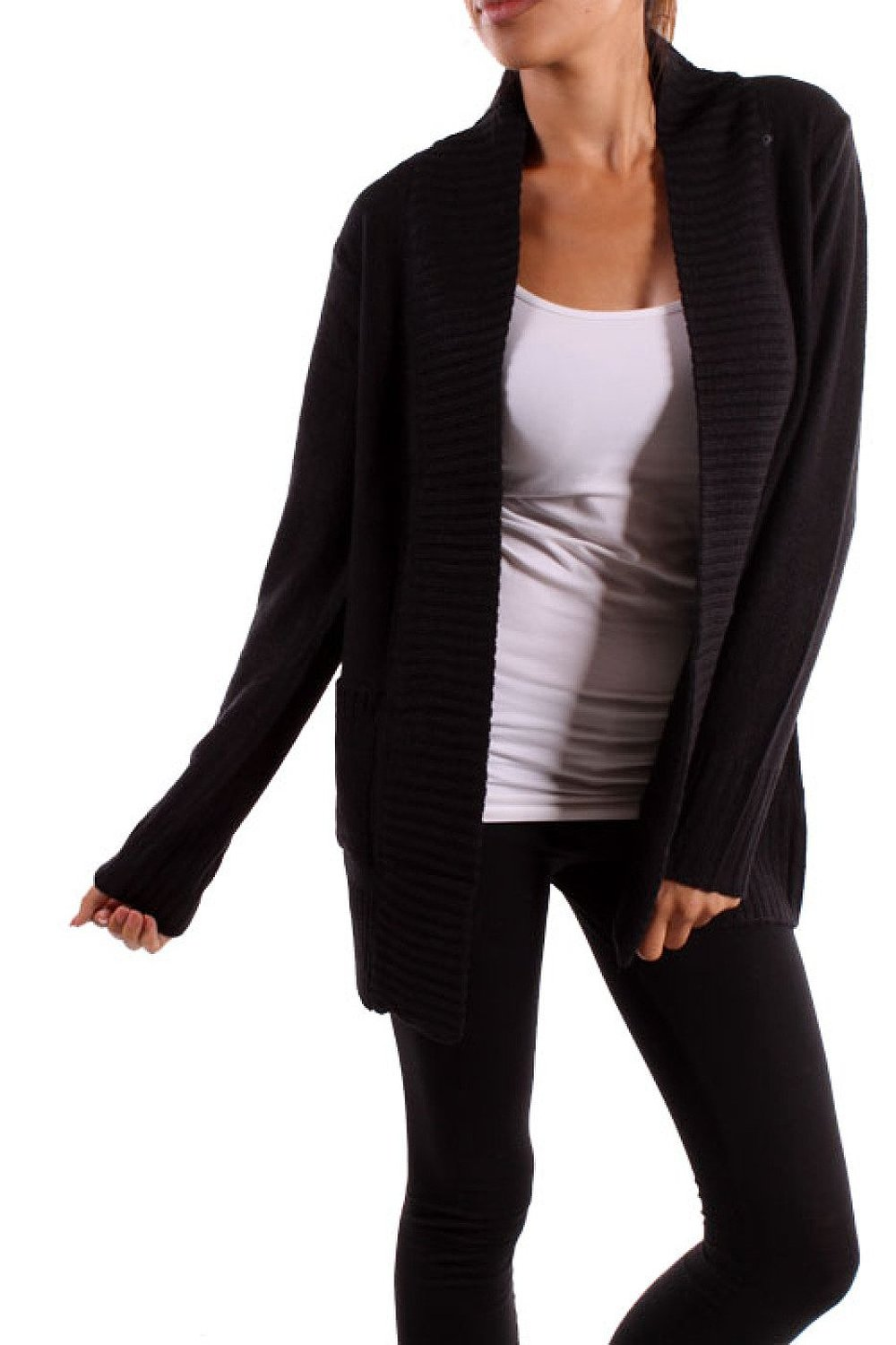 2luv women's long sleeve open front knit cardigan at amazon women's clothing store: cardigan sweaters